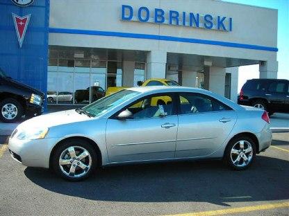 Silver Pontiac G6 2006. 2006 Pontiac G6 SILVER,