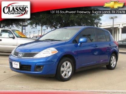 2007 Nissan Versa Sl. 2007 Nissan Versa 1.8 SL Blue