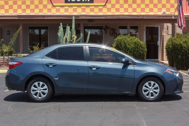 2014 TOYOTA COROLLA 4D SEDAN LE Slate Metallic air conditioning power steering amfm stereo po