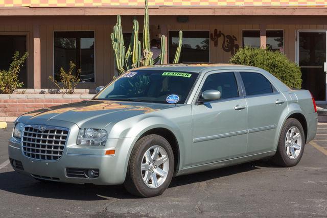 2006 CHRYSLER 300-SERIES 4D SEDAN TOURING Silver air conditioning wheels aluminumalloy power