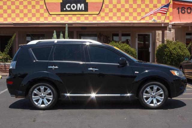 2009 MITSUBISHI OUTLANDER 4D SUV 4WD SE Labrador Black Pearl air conditioning wheels aluminuma
