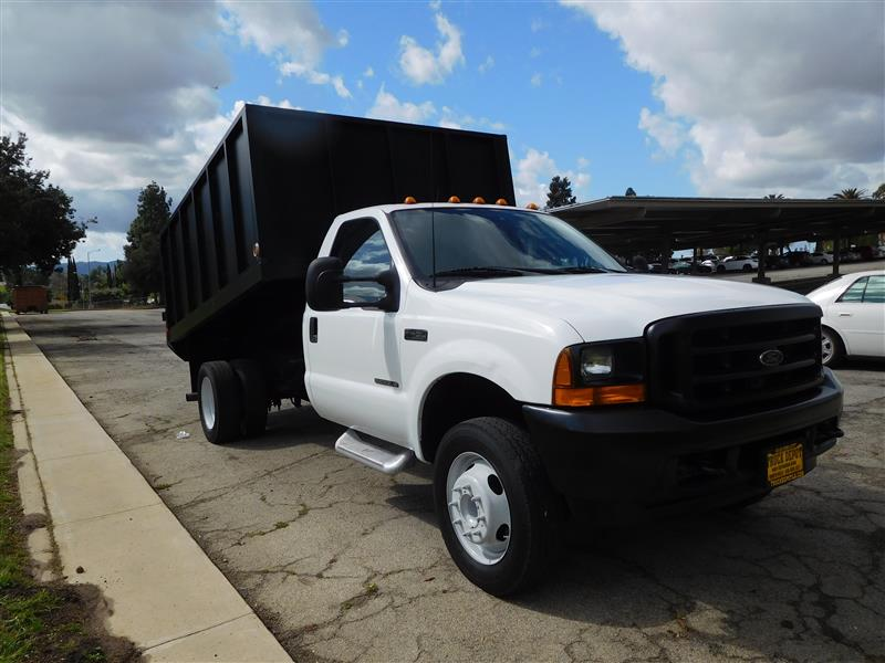 2001 FORD F-450 DUMP TRUCK  2001 ford f-450 diesel dump truck 73l power stroke diesel auto tra