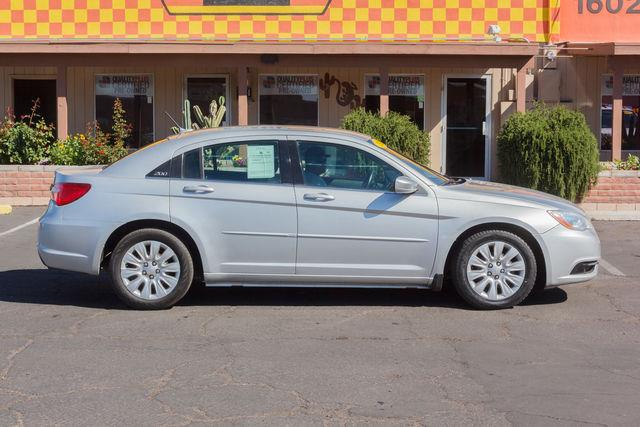 2012 CHRYSLER 200 4D SEDAN LX Bright Silver Metallic Clearcoat air conditioning power steering