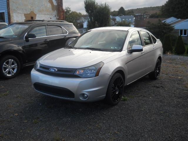2010 FORD FOCUS SES silverTAN 59000 miles Stock No 10FOCUS VIN 1FAHP3GNXAW171893