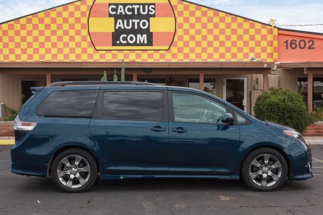 2011 TOYOTA SIENNA 4D WAGON SE Blue air conditioning power steering amfm stereo power windows