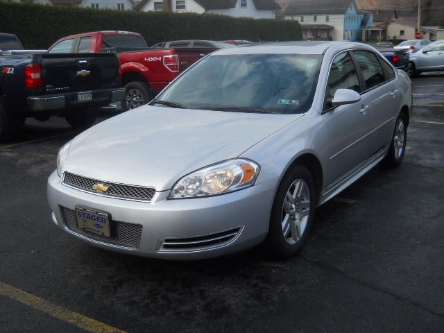 2013 CHEVROLET IMPALA LT FLEET silverGRAY well maintained 97453 miles Stock No 13IMP VIN 2G