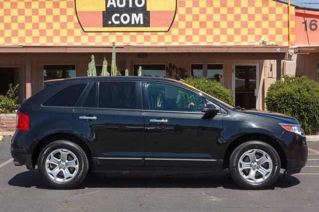 2011 FORD EDGE 4D SUV FWD SEL Black air conditioning wheels aluminumalloy power steering am