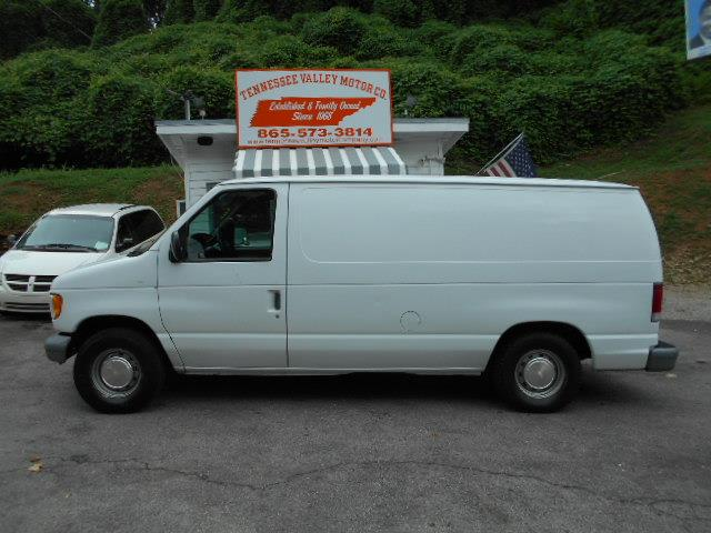 2000 FORD E-150 BASE whitegrey shelves preowned no fees price tax tags and title 866-902-0
