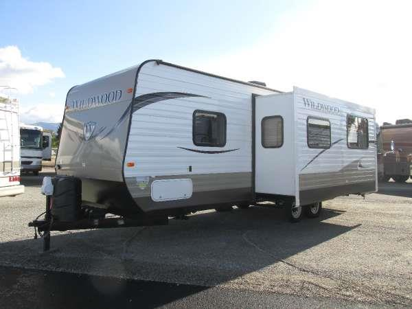 2014 WILDWOOD T26GBUD neutral the innovative design of the wildwood x-lite travel trailer reduces