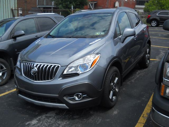 2013 BUICK ENCORE LEATHER GRAYBLACK 41000 miles Stock No 13ENCF VIN KL4CJCSB1DB145935