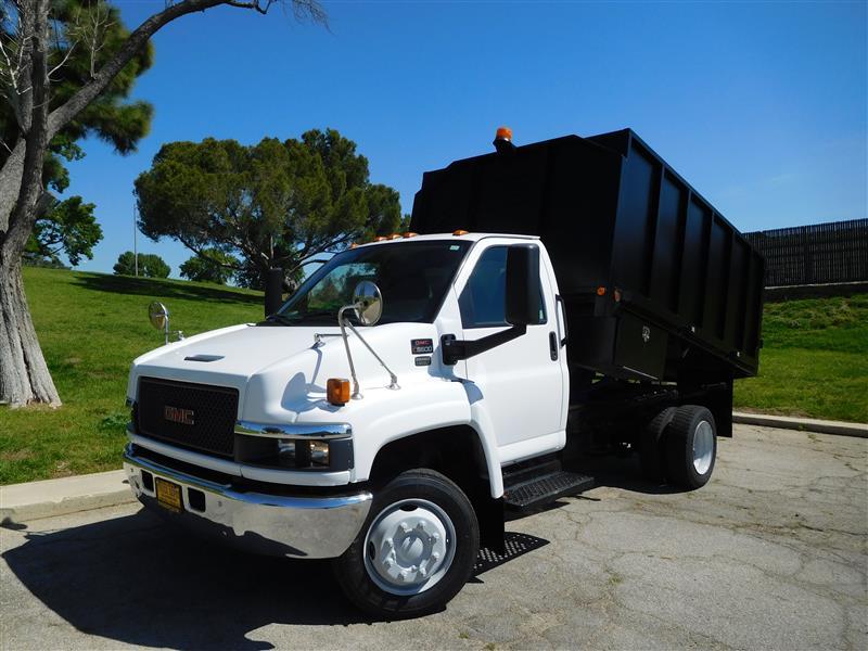 2008 GMC C5500  2008 gmc c-5500 dump truck 66l duramax diesel allison auto ac 121k miles ti