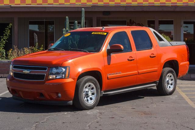 2007 CHEVROLET AVALANCHE 5D CREW CAB LT Sunburst Orange II Metallic air conditioning wheels alu