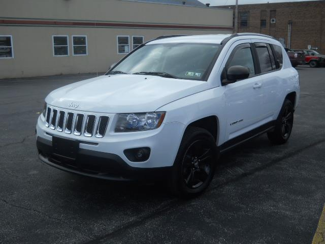 2015 JEEP COMPASS SPORT WHITEBLACK 39568 miles Stock No 15jeep VIN 1C4NJDBB6FD321440