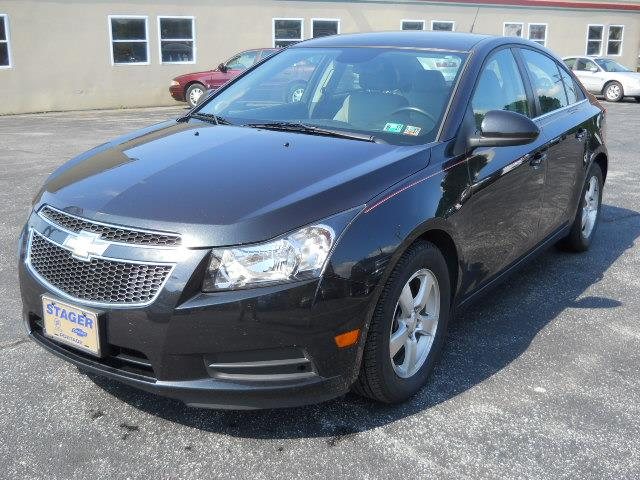2014 CHEVROLET CRUZE 1LT AUTO BLACKGRAY 55000 miles Stock No 14CRUZE VIN 1G1PC5SB6E7155189