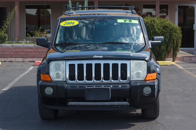 2006 JEEP COMMANDER 4D SUV 2WD LIMITED HEMI Black Clearcoat air conditioning wheels aluminumal