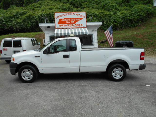 2007 FORD F-150 XL whitegrey 1 owner off lease flashing lights on top or easy to remove pre-o