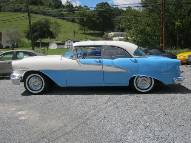 1955 OLDSMOBILE 88 blue white Stock No 4909a VIN NOVIN36966CWO
